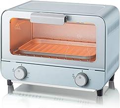 Jsmhh Microondas eléctrica automática for Hornear la Torta de Pan de Hogares de Acero Inoxidable Mini Horno Grill El Estiramiento de la Bandeja de escoria cajón