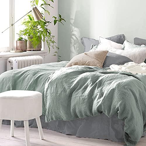 Pure Label Halbleinen Bettwäsche - Set aus Baumwolle und Leinen