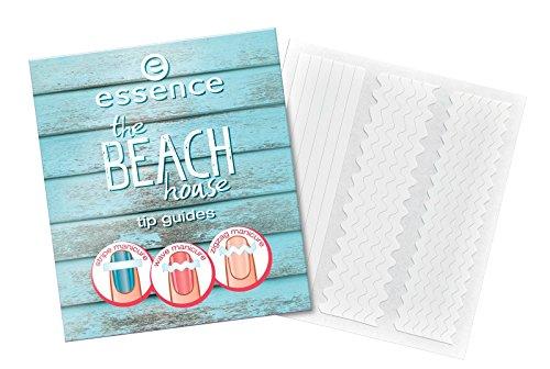 2 x Essence The Beach House Tip Guides N ° 01 Beach, Please. contenu : 17 rayures motifs : Zick Zack, vagues et rayures Idéal pour le Nail individuel.