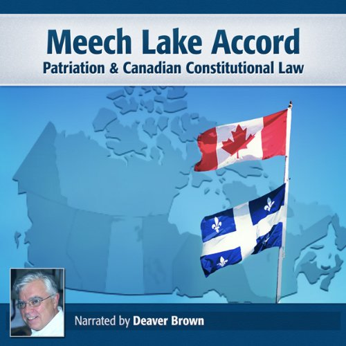 Meech Lake Accord audiobook cover art