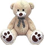 Inflate-A-Mals- Bear Oso de 1,5 m, Color Beige (DGL INF-BEAR-5FT-EU)