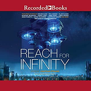 Reach for Infinity audiobook cover art