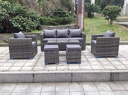 Muebles al aire libre del vector del sofá, ángulo de rotación,Grey