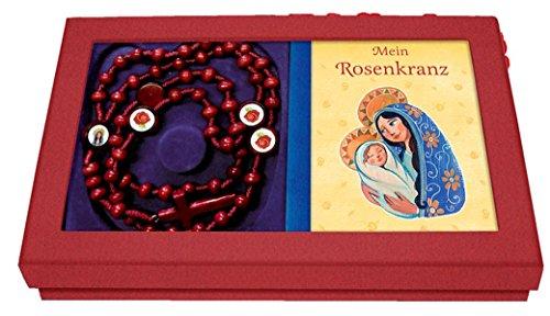 Mein Rosenkranz - Geschenkbox mit Rosenkranzkette und Büchlein