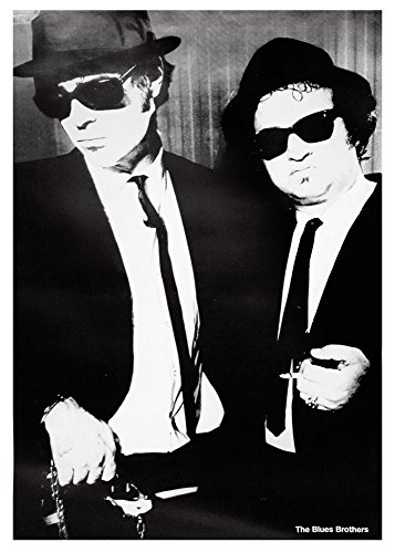 Close Up Blues Brothers Poster (70cm x 100cm) + Ü-Poster