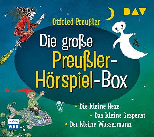 Die große Preußler-Hörspiel-Box: Die kleine Hexe – Der kleine Wassermann – Das kleine Gespenst. Hörspiele (6 CD)