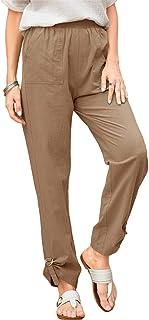 Women's Straight Leg Relaxed Pants High Waist Loose Fit...