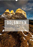 Dolomiten. Italien (Wandkalender 2022 DIN A3 hoch): Die herrlichsten Ansichten der Dolomiten (Monatskalender, 14 Seiten )