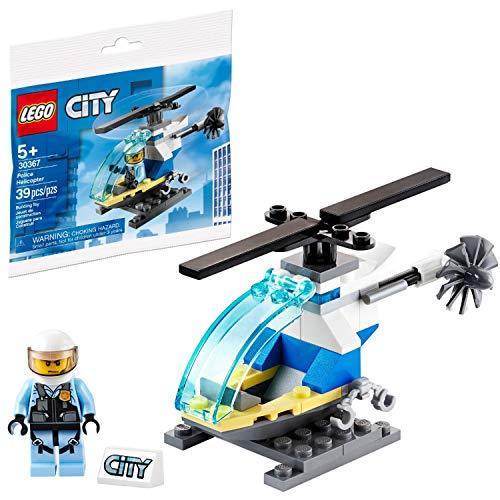 Police Helicopter LEGO set makes a good filler for boys Easter basket