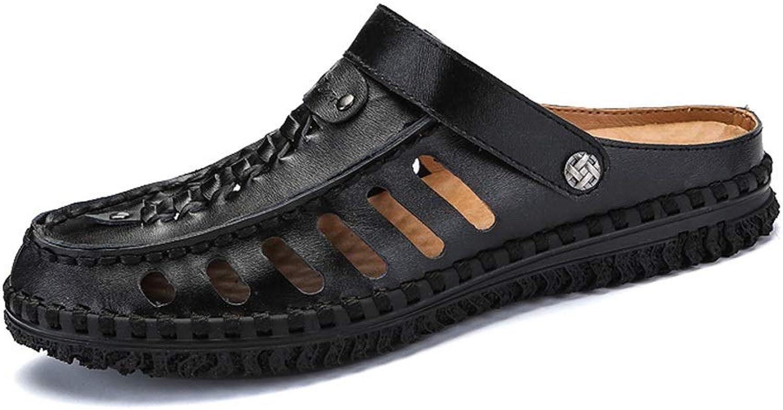 Men's Fashion Sneaker Men's Sandals and Slippers Men's Leather Sandals Summer shoes Men's Leather Sandals Breathable