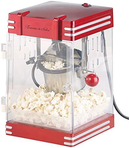 Rosenstein & Söhne Popkornmaker: Retro-Popcorn-Maschine