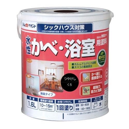 水性かべ・浴室用塗料(無臭かべ) 1.6L