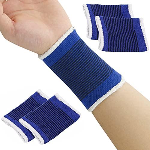 XINYIND 4 Paare Handgelenk Bandagen Handgelenkstütze Elastisch Handgelenkschoner Sport Handbandage für Fitness, Gymnastik, Heben, Tennis