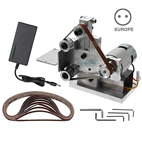 Find Bargain Xucus Grinder Electric Belt Sander Mini DIY Polishing Grinding Sharpener Machine HYD88 ...