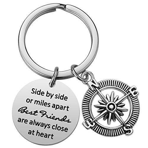 Friendship Gifts for Women Best Friend Keychain Birthday Gifts for Best Friend BFF