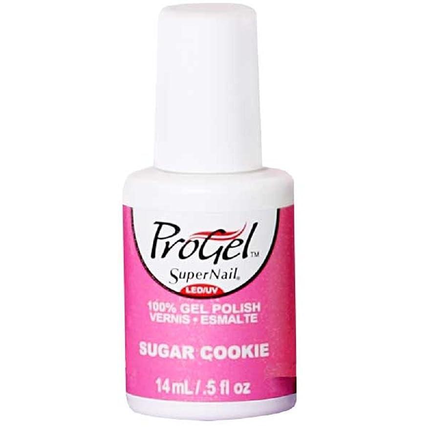 期間ステッチヤングSuperNail ProGel Gel Polish - Sugar Cookie - 0.5oz / 14ml
