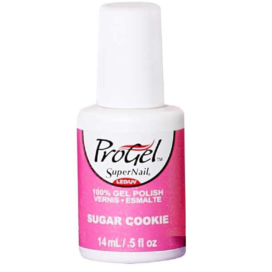 SuperNail ProGel Gel Polish - Sugar Cookie - 0.5oz / 14ml