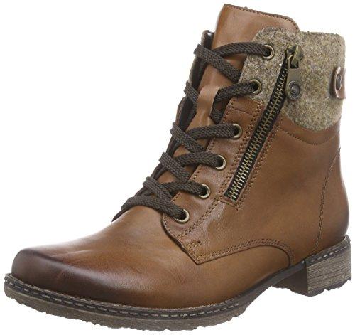 Remonte Damen D4379 Combat Boots, Braun (muskat/wood/muskat/24), 38