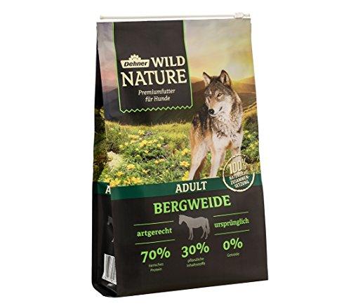 Dehner Wild Nature Hundetrockenfutter Adult, Bergweide, 4 kg