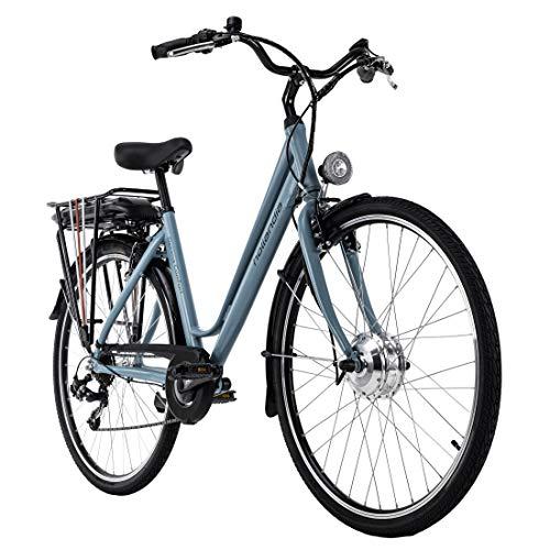 Adore Alu E-Trekking Bike 28'' Optima Comfort türkis 250W Li-Ion 36V/13 Ah/468Wh 7 Gänge