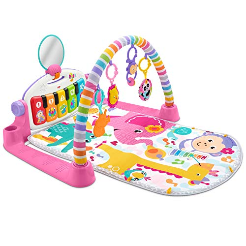 Fisher-Price FWT25 Deluxe Kick and Play Piano Gym, Multi-Colour