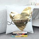 XYZU Funda de Cojine Funda de Almohada del Sofá Throw Cojín Decoración Almohada Caso de la Cubierta Decorativopara Sala de EstarHot Street Love Peyelash Love Almohad Set 2pcs-06
