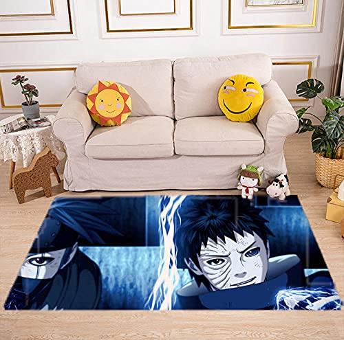 Tappeto Camera da letto soggiorno cartone animato Anime Naruto Camera Camera dei Bambini comodini tappetini casa pavimento antiscivolo antiscivolo-a_40X60CM
