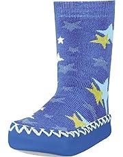 Playshoes Zapatillas con Suela Antideslizante Estrellas, Pantuflas Unisex niños