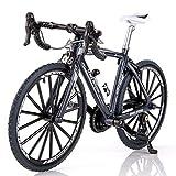 Mini Modelo De Bicicleta Adorno De Bicicleta Plegable De Aleación Resistente Al Desgaste Simulación De Bicicleta Decoratio, Dedo En Miniatura Modelo De Bicicleta De Montaña Juguete Mini Juguetes