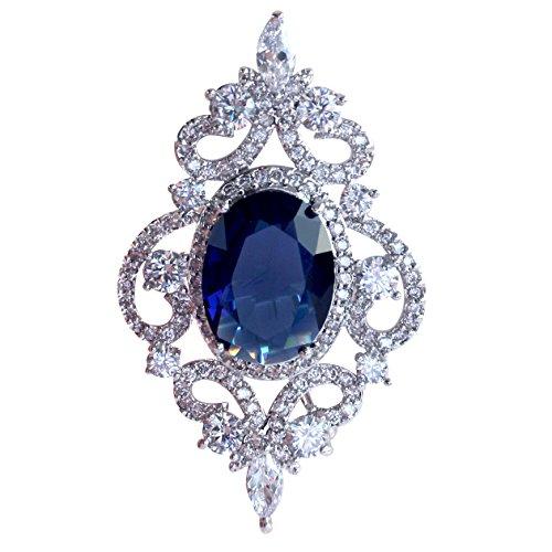 SELOVO Vintage Style Women's Blue O…
