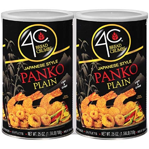 4C Plain Japanese Style Panko Bread Crumbs, 2 Pack