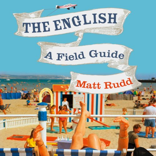The English audiobook cover art