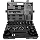 Bonbo 23Pcs FWD Front Wheel Drive Bearing Adapters Puller Press Replacement Installer Removal Tool Kit