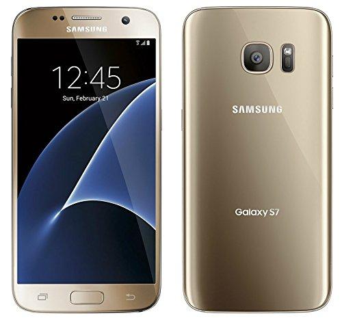 Samsung G935 Galaxy S7 Smartphone, LTE, Display 5.1' SAMOLED, Memoria Interna da 32 GB, 4 GB RAM, Oro, Tim [Italia]