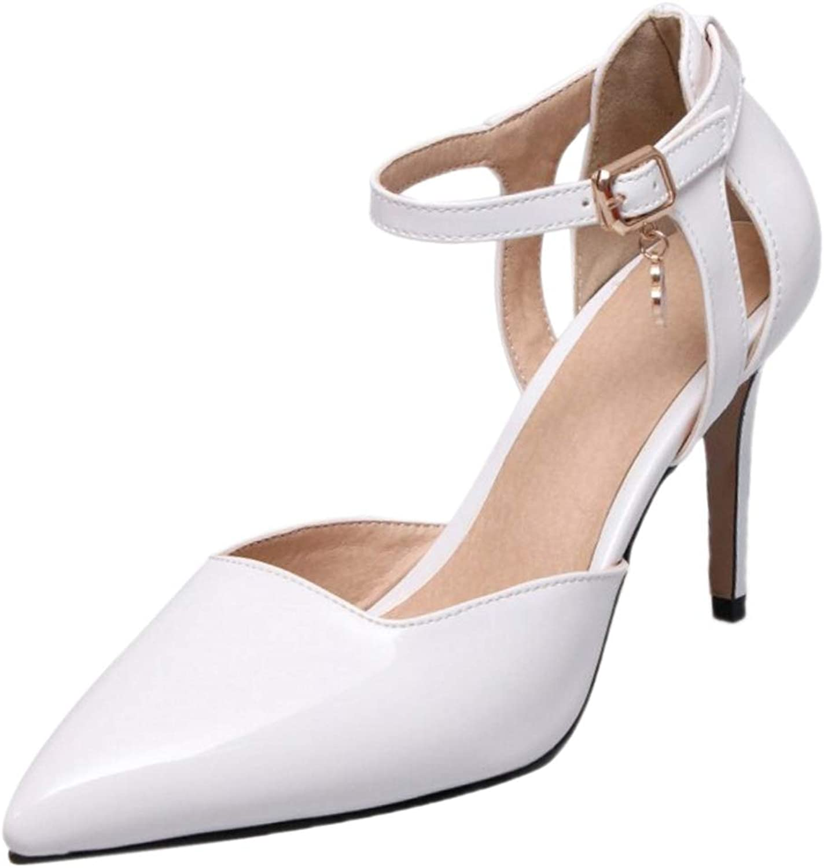 FANIMILA Women Fashion Pointed Toe Summer Sandals