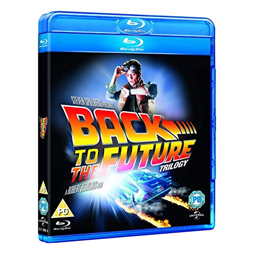 Back To The Future Trilogy [Blu-ray] [UK Import]