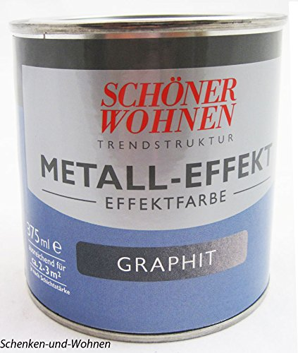 Trendstruktur- Metall-Optik - Effektfarbe Graphit 375 ml