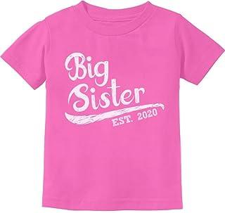 Big Sister Est 2020 - Sibling Gift Idea Toddler Kids T-Shirt