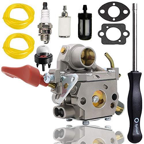 C1M-W44 Carburetor for 545008042 545189502 ZAMA W44 141A Craftsman Poulan 33CC PP333 PP330 PPB330 PP133 PP335 PPB335 PP338PT Pro Gas Trimmer
