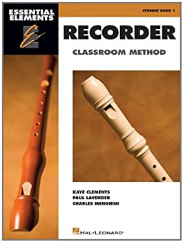 Essential Elements for Recorder Classroom Method - Student Book 1  Book Only
