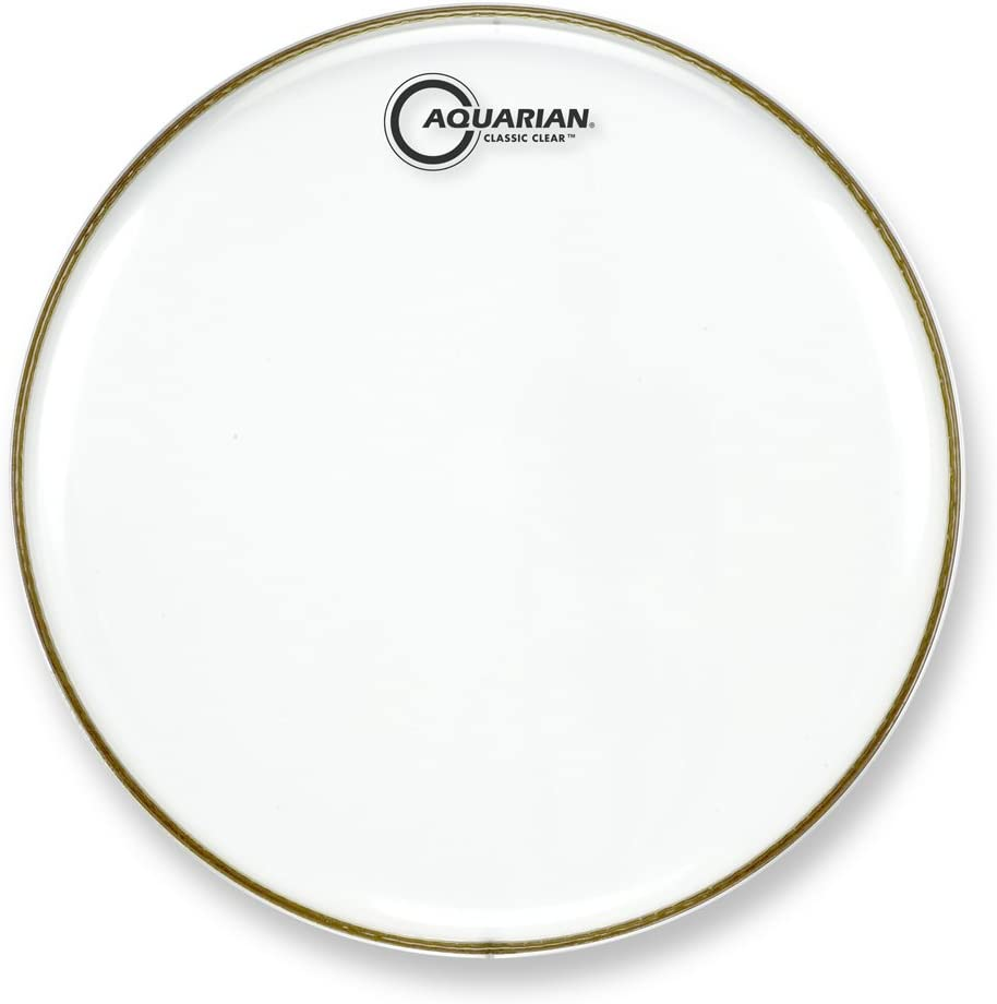 Aquarian Drumheads Spasm price CC18B Classic Clear Drum low-pricing Head 18-inch Bass