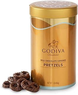 ゴディバ (GODIVA), ミルク チョコレート プレッツェル 1 LB(海外直送品) [並行輸入品]