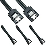 3 Pack Straight 18-Inch SATA III 6.0 Gbps Cable...