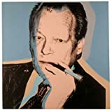 Kunstdruck / Poster Andy Warhol - Willy Brandt - 70 x 70cm