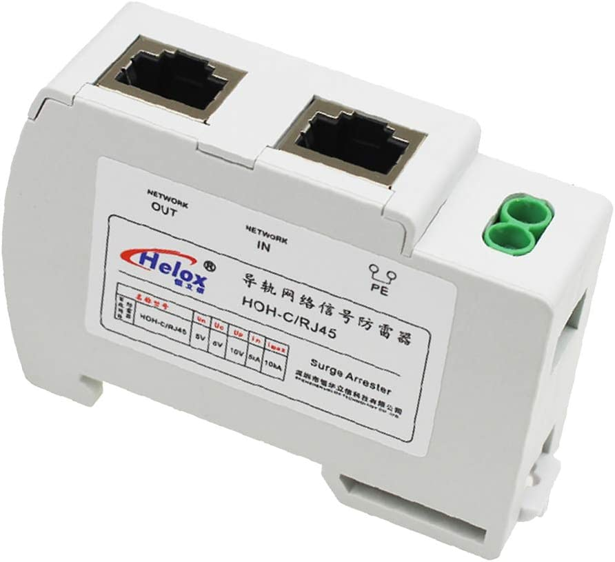 Baosity Ethernet LAN Ranking TOP1 10 100Mb Max 65% OFF s Arrester for RJ45 Surge Thu Fast