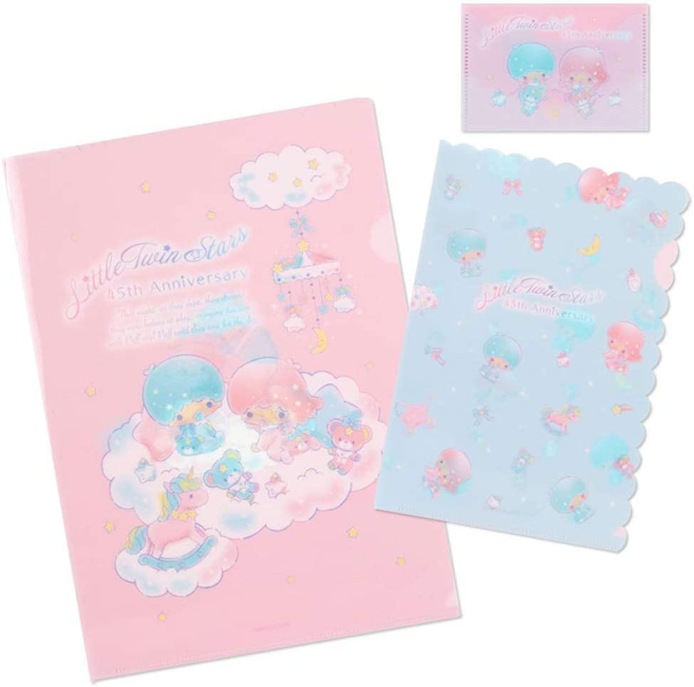Littletwinstars Clear File Set Selling rankings A4 Mini Size Card 45th case Surprise price
