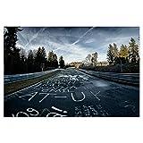 artboxONE Poster 90x60 cm Sport/Motorsport Himmel trifft
