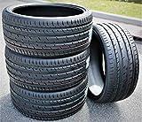 Set of 4 (FOUR) Haida HD927 Summer High Performance Radial Tires-275/40R22 275/40ZR22 275/40/22 275/40-22 107W Load Range XL 4-Ply BSW Black Side Wall
