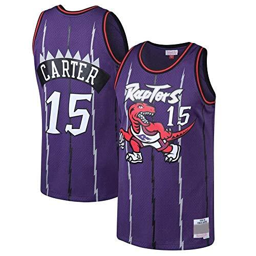 Zxwzzz Ricamato Pallacanestro Swingman Jersey No.0 Jersey Toronto Raptors No.7 Lowry Maglie Traspirante NBA Uomo (Color : Purple 15, Size : XX-Large)