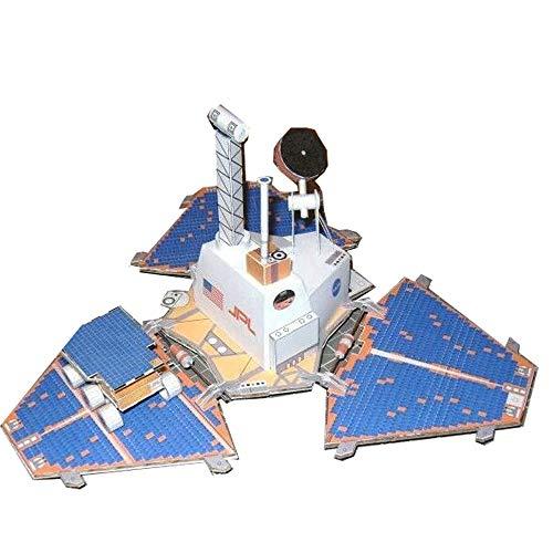 ELVVT 01:12 Mars Pathfinder + Sojourner DIY handgemaakte ruimtevaart papier Model speelgoed 3d puzzels Modelbouw Handmade wetenschap gift